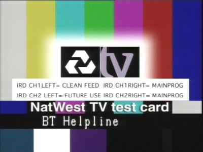 National Westminster bank TV
