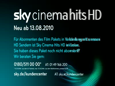Sky Cinema Hits HD Germany